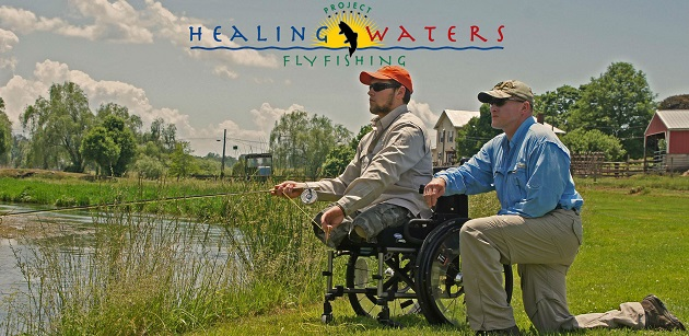 Project healing waters fly fishing inc project healing for Healing waters fly fishing